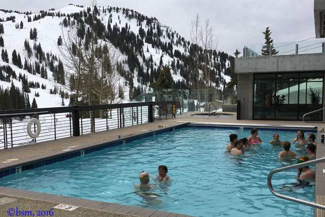 alta's rustlers lodge pool