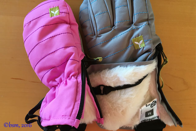 kushi riki gloves mittens kids