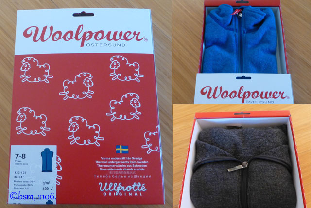woolpower packaging