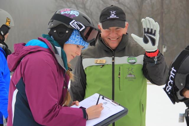 world's largest ski lesson