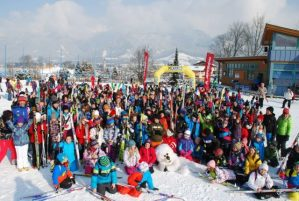 FIS Saalfelden world snow day