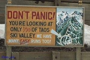 taos famous sign