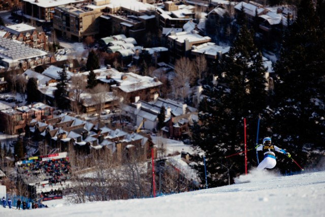 world cup ski racing aspen