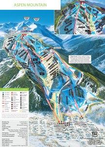 aspen mountain map