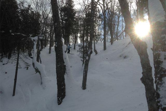 extreme skiing mt bohemia