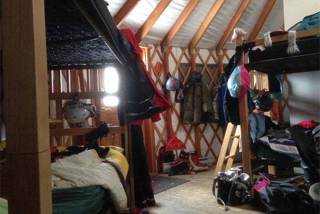 mt bohemia sleeping yurts
