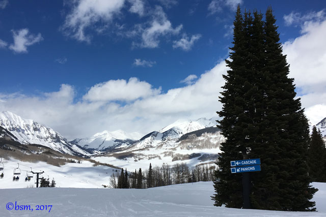 blue runs crested butte