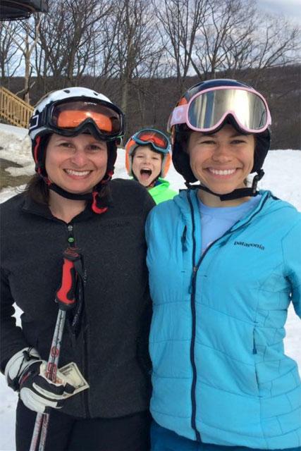 family skiing montage mountain pa