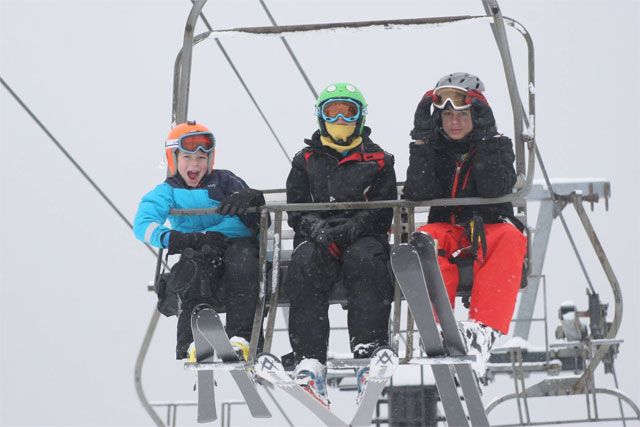 montage mountain family skiing