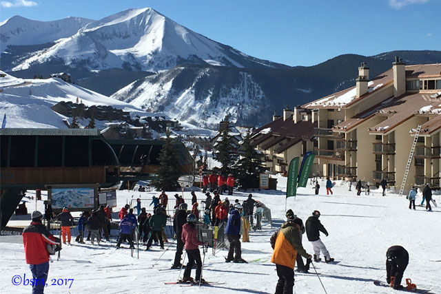 red lady express chair crested butte