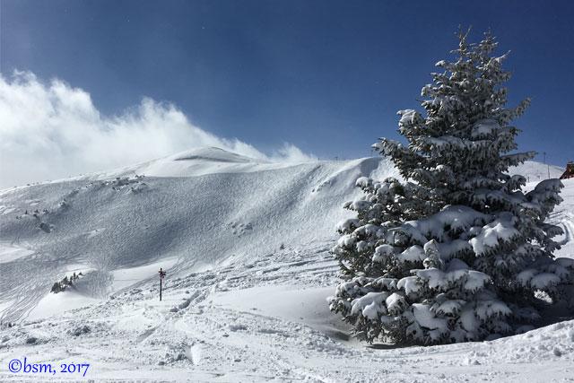 bowl skiing copper mountain