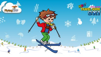 Flying Kids: Tips for Traveling with Kids of All Ages (Ski Guide Giveaway)