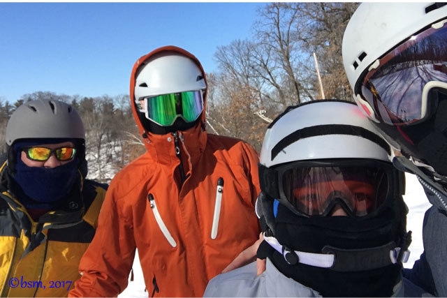 family skiing minnesota