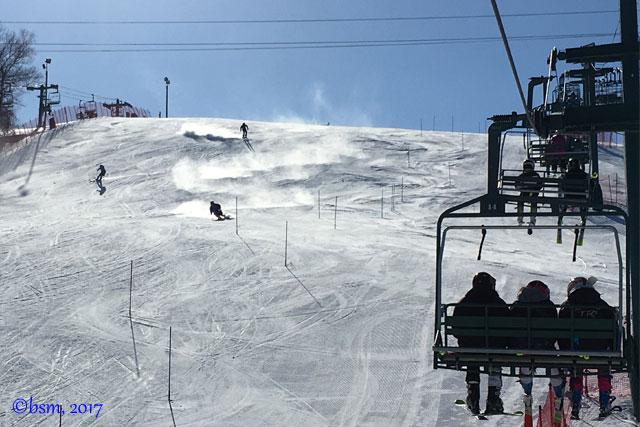 ski racers afton alps