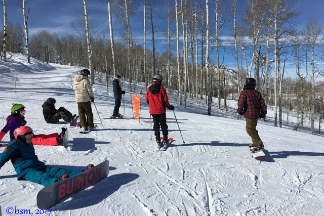 snowmass lowdown terrain park