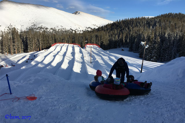 tubing at keystone