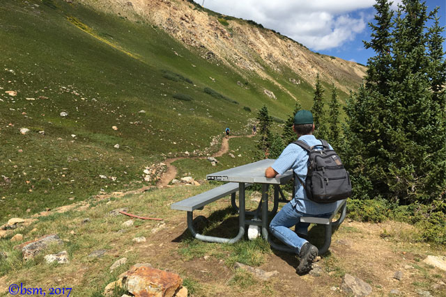 peak 8 horseshoe hiking trail breckenridge