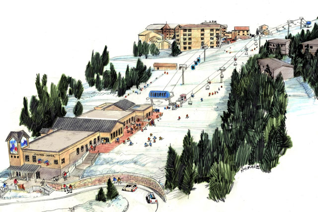 taos ski valley new gondola