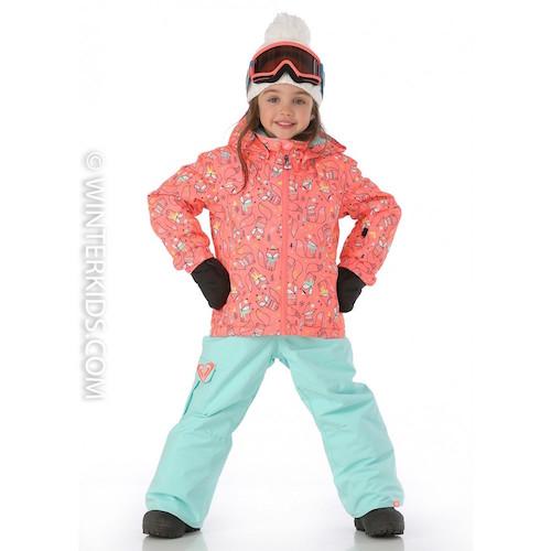 Roxy Mini Jetty Jacket in Foxes