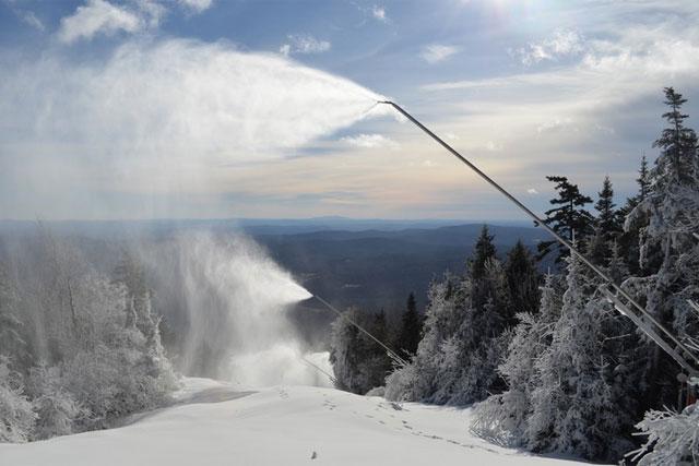 okemo snowmaking in vermont