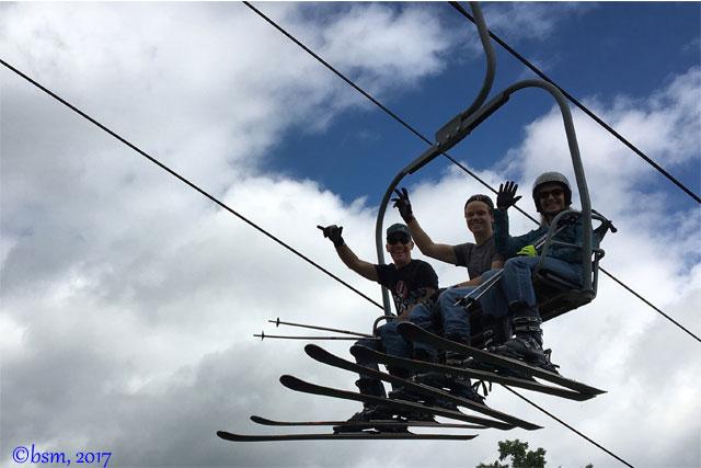 summer skiing at buck hill