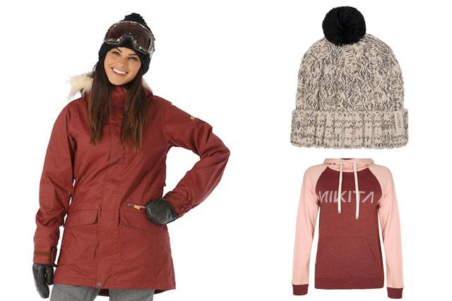 nikita ski jacket, hoody and beanie prize package from winterwomen.com