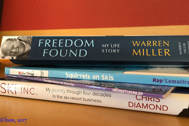 books about skiing for kids and adults