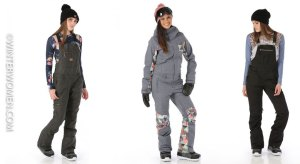 Ski Fashion 2017-2018: Keep Cold and Snow Out with One Piece Suits and Overall Ski Pants