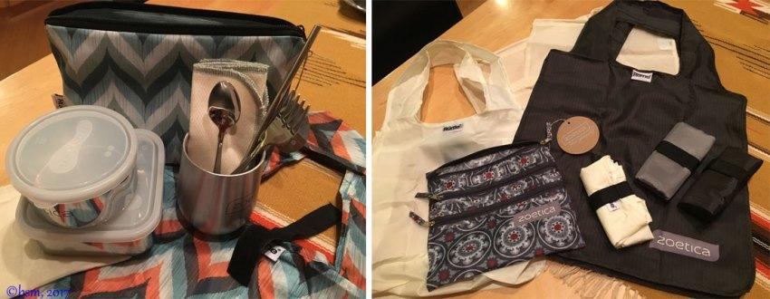 zoetica bag of bags and wayfarer kits