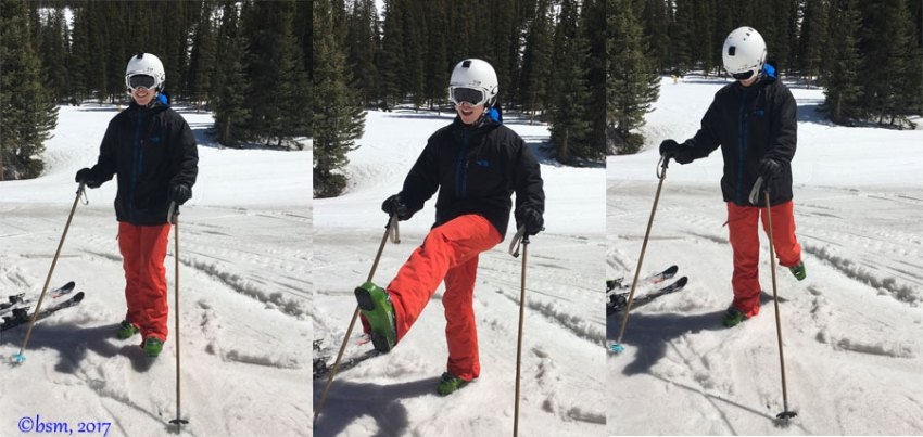 leg swings ski warmup