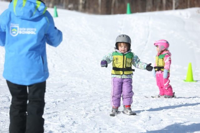 children's ski school at killington vermont
