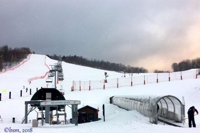 beginner terrain at stowe mountain resort