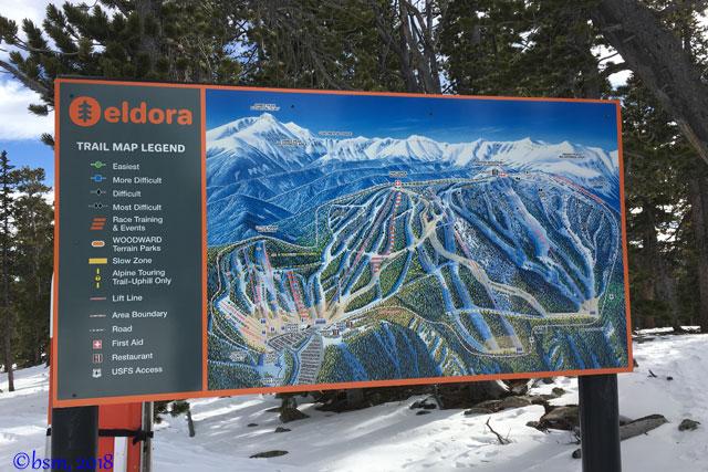 eldora mountain resort trail map