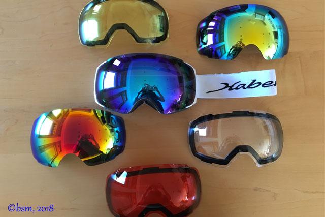 habervision ski goggles