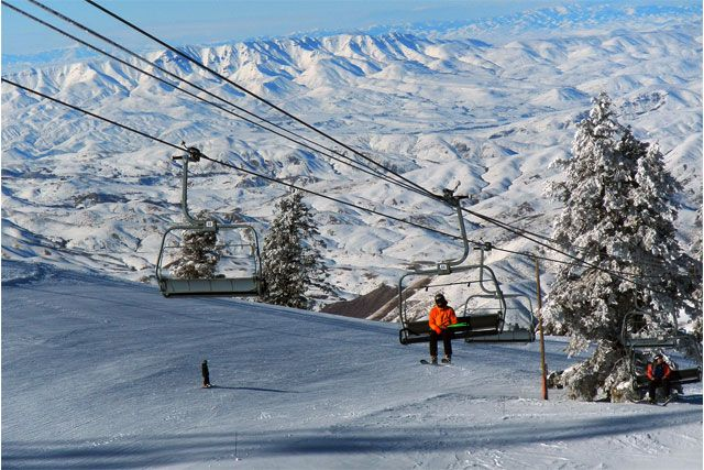 Not the Mama: Boise, Idaho - The Blue, The White, The Skiing