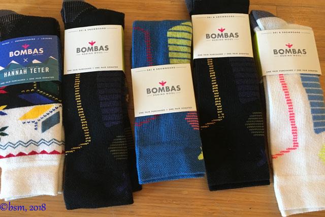 bombas ski socks for men and women