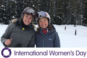 Greetings from the Brave Ski Mom on International Women's Day