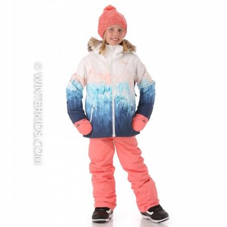Roxy Girls American Pie Girls SE Ski Jacket