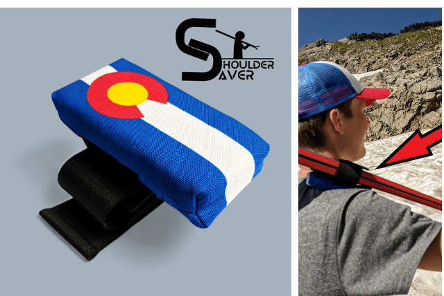shoulder saver holiday gift for skiers