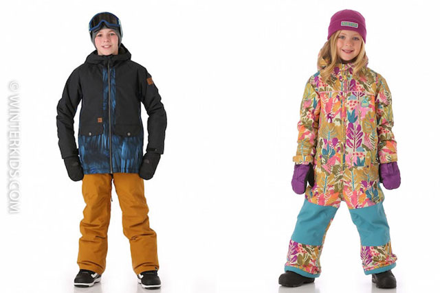 Ski Fashion: The Best Ski Kids Jackets from Toddlers to Teens (Giveaway)