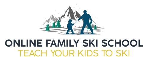 online family ski school logo