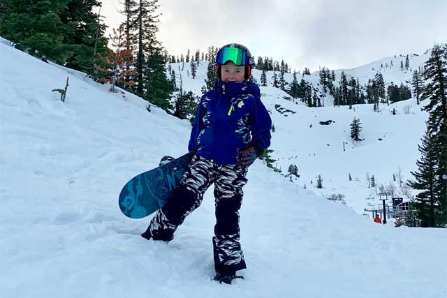 Best ski coats for kids