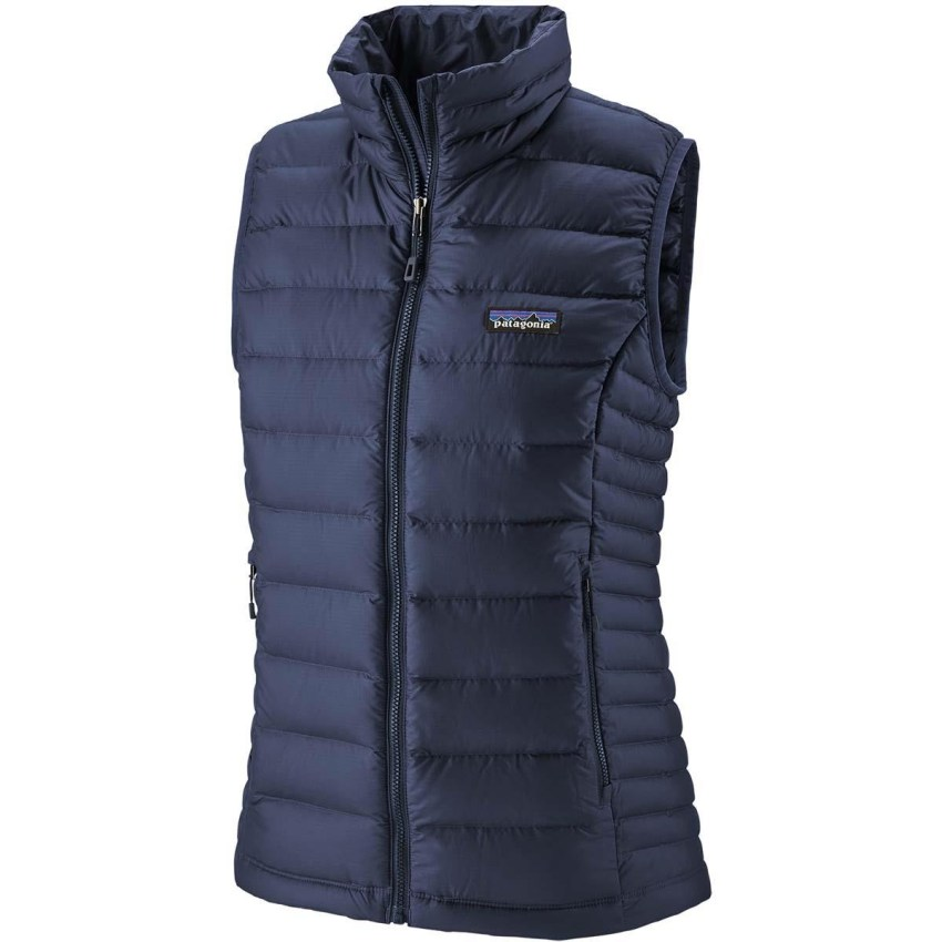 Patagonia down sweater vest for women is a spring ski fashion essential