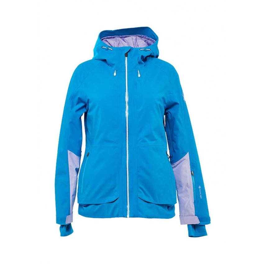 Spyder's Balance Gore-Tex ski jacket for women is one of our choices for best ski clothes for spring