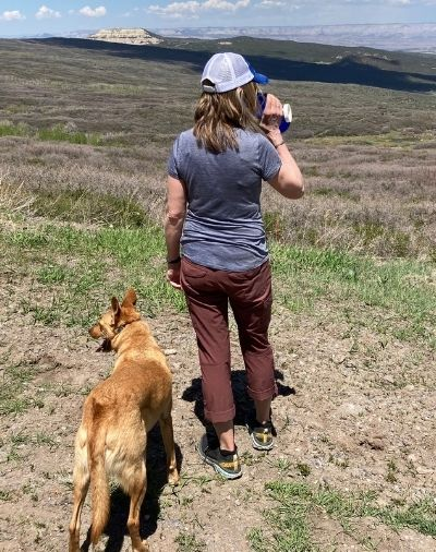 Women's hiking pants from Kühl that are soft and stretchy