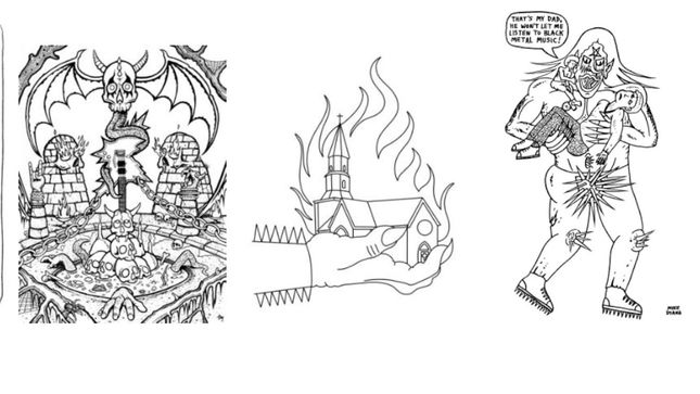 Paint It Black! The Black Metal Coloring Book Available