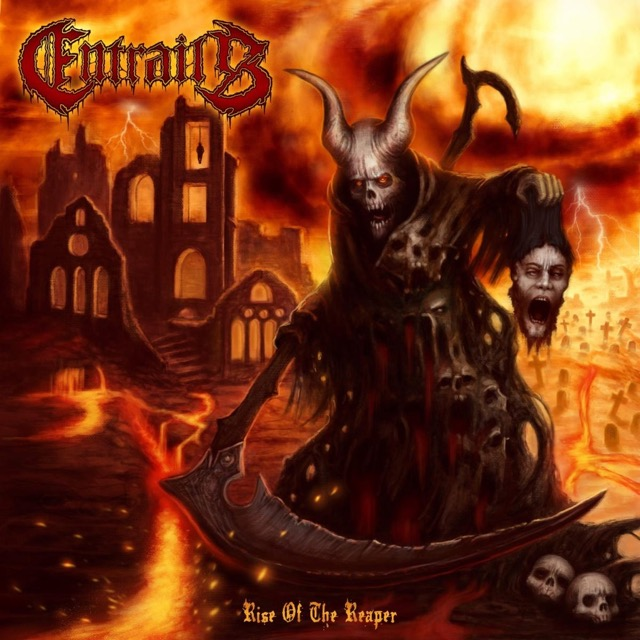 瑞典死金 Entrails 發行新專輯 Rise of the reaper 釋出單曲 Crawl in your guts 2