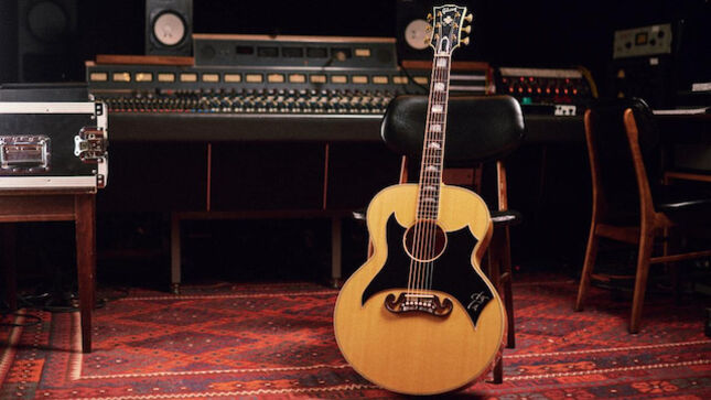 TOM PETTY - Limited Edition Original Gibson SJ-200 Wildflower Acoustic  Guitar Commissioned For The Music Icon; Available Worldwide - BraveWords