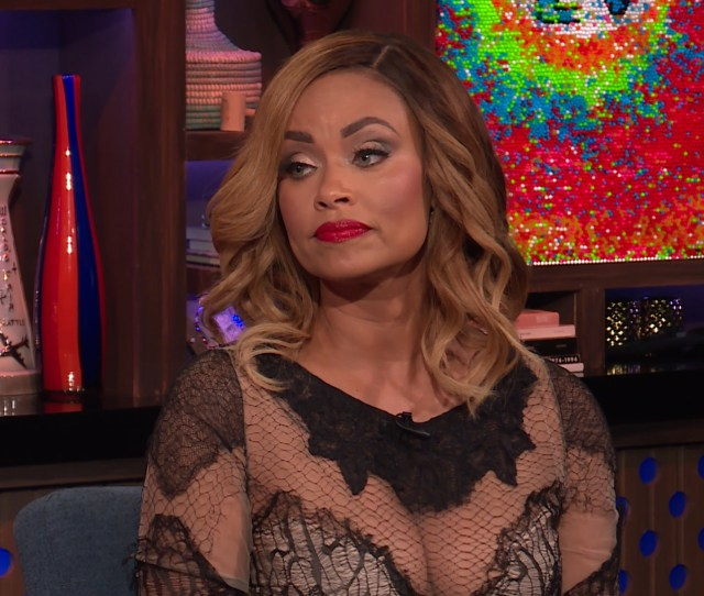 Gizelle Bryant From Rhop Tells Andy Cohen How She And Fellow Wife Ashley Darby Have Been Able To Become Good Friends And Whether She And Monique Samuels