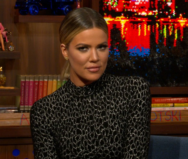 Andy Cohen Asks Khloe Kardashian If She Has Ever Made A Sex Tape And Khloe Admits That She Has And With Whom It Was Made